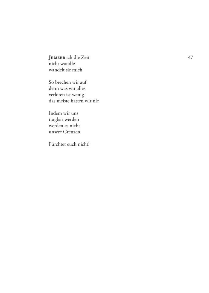Gedicht zum baum des lebens